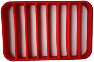 Hemoton Aislador de rejilla para asar de 1 pieza Aislador de silicona multipropósito Rejilla antiadherente Rejilla para hornear para olla a vapor Horno a presión