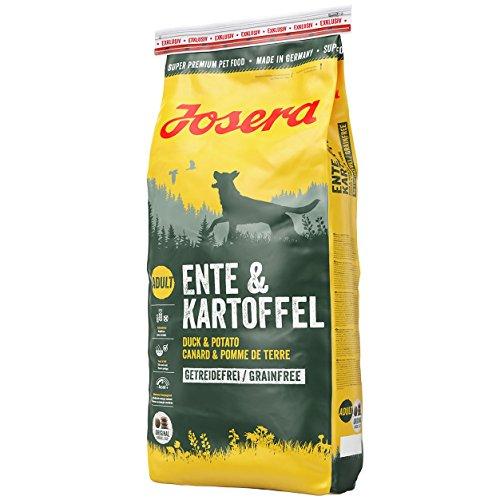 Josera Ente und Kartoffel Trockenfutter für Hunde...