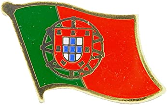 Portugal Flag Patch and Pin IFPP001