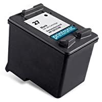 Printronic Remanufactured Ink Cartridge Replacement for HP 27 C8727AN 1 Black