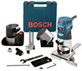 Bosch GKF125CEN - Palm Router + Palm Router Edge Guide