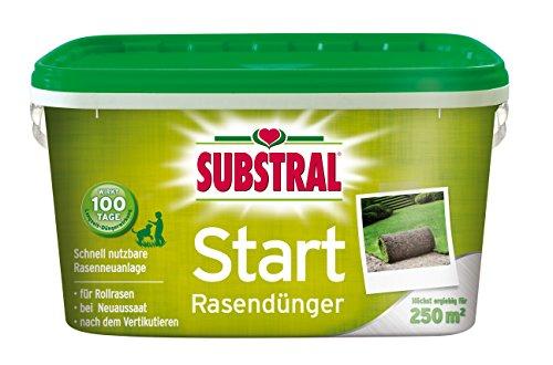 Substral  Start-Rasen Dünger f. 250m²  - 5 kg