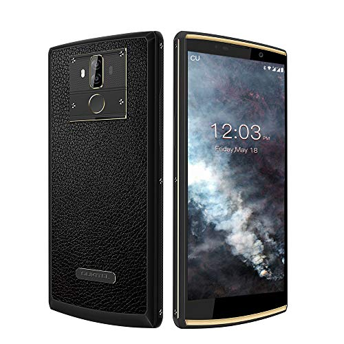 Image of OUKITEL K7 Pro 10000mAh Big Battery Dual Nano SIM 4G Unlocked Cellphone, 4GB + 64GB Android 9.0, MT6763 Octa Core,5MP + 13MP Camera 6''HD+ Screen Smartphone-Black: Bestviewsreviews