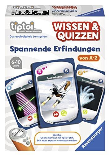 Ravensburger 00750 - tiptoi Spiel Wissen & Quizzen: Spannende Erfindungen