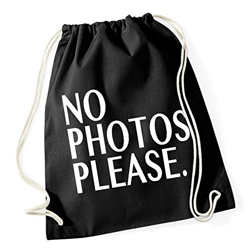 Certified Freak No Photos Please Borsa De Gym Nero