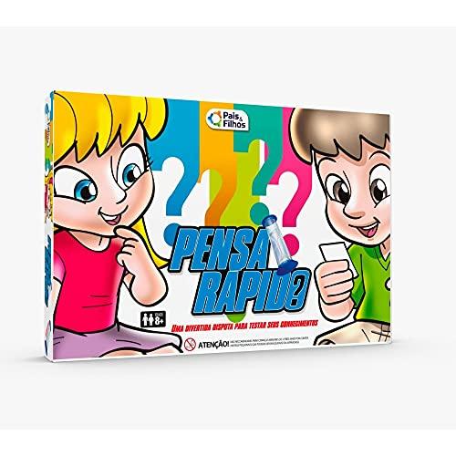 Pensa Rápido - Super Jogos, Pais & Filhos, 7301, Azul