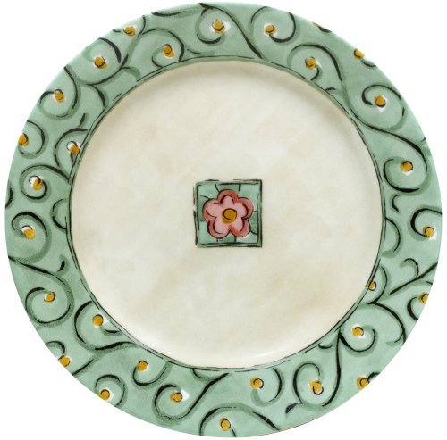 """Corelle Impressions Watercolors 8-1/2"""" Luncheon Plate (Set of 4)"""