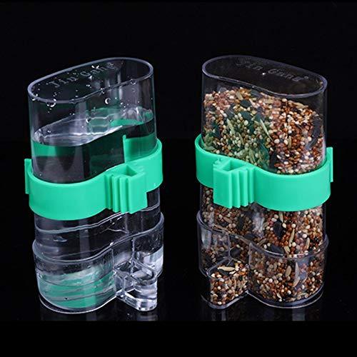 Yukiko Vogel Automatische Water Trap Vogelkooi Accessoires Drinkende Fontein Vogel Gebruiksvoorwerp