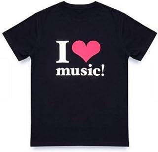 安室奈美恵 ラストライブ Tシャツ 公式 Lサイズ /WE ハート(LOVE)NAMIE HANABI SHOW/ I ハート(LOVE)music Tシャツ BLACK 黒【沖縄 宜野湾 花火ショー】
