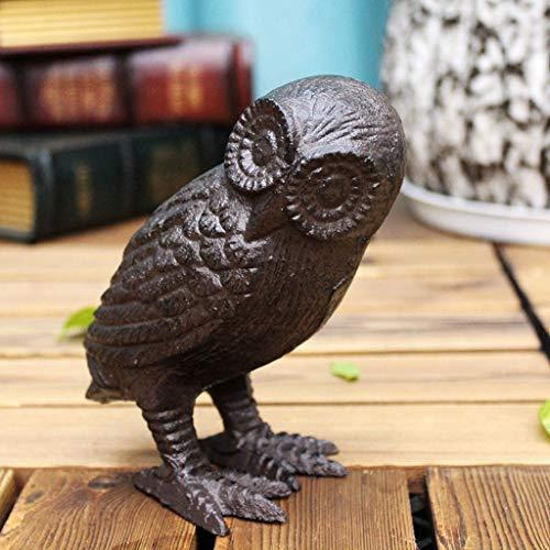 CKH Metal Owl Ornaments Office Home Store decoraties creatieve decoratie voor binnen en woonkamer cadeau