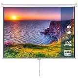 Zoom IMG-1 schermo per proiettore 203x203cm misura
