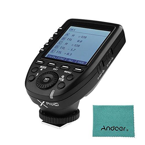 Godox Xpro-C E-TTL II Flash Trigger Trasmettitore 2.4G Wireless per fotocamere Canon EOS serie per fotocamera serie Godox Lampeggia gli flash esterni e lampeggia lo studio