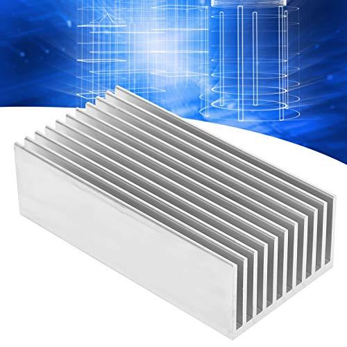 Radiador de refrigeración de Aluminio, componentes de Control Industrial Enfriador de CPU Resistente a la corrosión para Placas de Potencia para componentes electrónicos para transistores