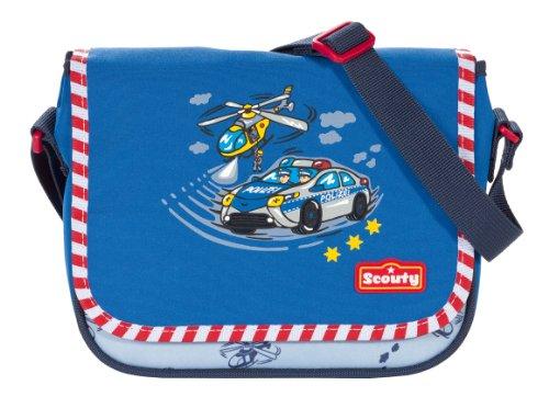 Scout Kinder-Sporttasche Umhänger Ii Polizei 3 Liters Blau 20030086800