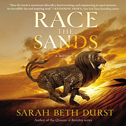 Couverture de Race the Sands