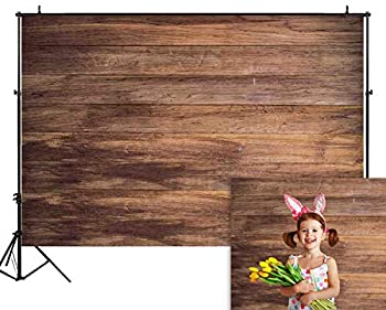 Funnytree 5X3ft Wood Backdrop Wooden Board Photography Bokeh Rustic Faux Panel Flat Background Portrait Retro Texture Photo Booth Studio Props Poster Photoshoot Photografia