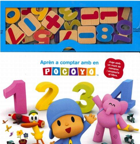 Aprèn a comptar amb en Pocoyó: Juga amb un munt de números i encaixa´ls al llibre