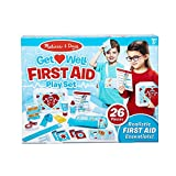 Melissa & Doug Get Well First Aid Kit Play Set – 25 Toy Pieces