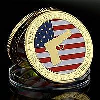 お土産を保管する権利を改定し、武器を運ぶために2度目の贈り物を送るための金貨コレクション武器武装コレクションアート金メッキ