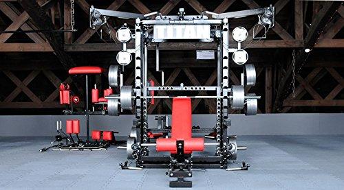 TYTAX T1-X Multi-Gym Multipresse Kraftstation Kraftmaschine mit Power-Rack