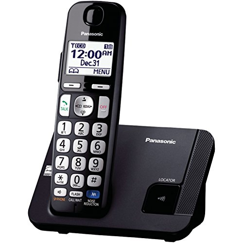 Panasonic Expandable Cordless Phone DECT 6.0 with Talking Caller ID