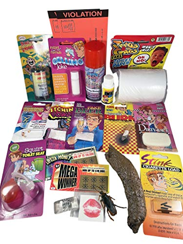 The One Stop Fun Shop The Ultimate House Party Prank Kit