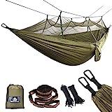 NATUREFUN Moustiquaire Hamac Ultra-léger de Voyage Camping | 300 kg Capacité de Charge,(275 x 140 cm) Respirante, Nylon à...
