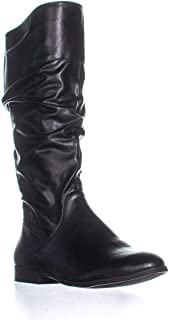 Style & Co. SC35 Kelima Wide Calf Knee High Boots, Black
