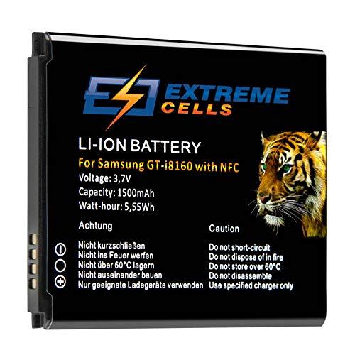 Extremecells Batería para Samsung Galaxy S3 Mini GT-i8190 NFC Ace 2 i8160
