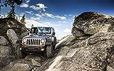 E-HO226B Jeep Wrangler 96cm x 60cm,38inch x 24inch Silk
