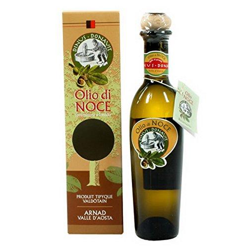 Olio di noce Dinus Donavit 100% valdostano, 250ml, spremitura a freddo, produzione limitata