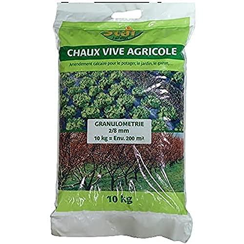Start Chaux vive agricole granulés VN 92 SAC 10kg 10kg CV10