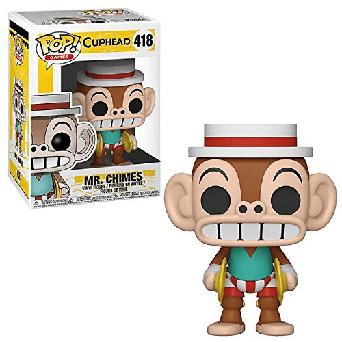 Funko Pop! Cuphead Mr. Chimes Exclusive Vinyl Figure 35005