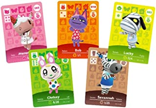 [Newest Version] 24pcs Animal Crossing Series 1-4 NFC Cards, New Horizons Game Villagers Cards.