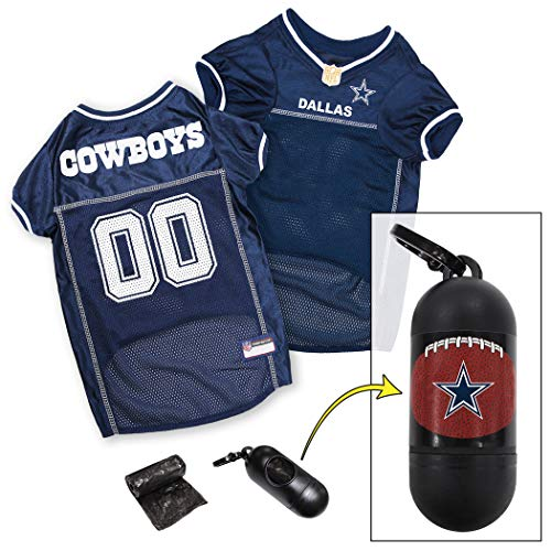 NFL DALLAS COWBOYS DOG Jersey, Medium