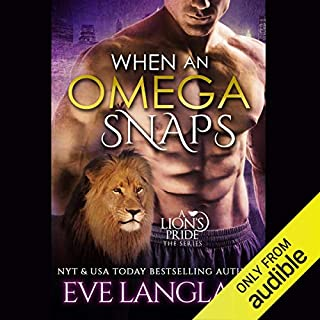 When an Omega Snaps audiobook cover art