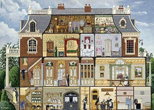 1000 Luxury Pieces Jigsaw Puzzle Wooden Some reservation and Timeless - Upst Challenging