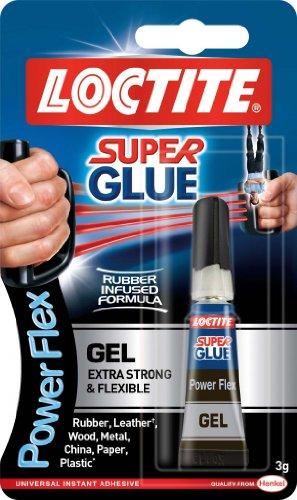 Loctite Powerflex Super Glue - Pegamento en gel, 3g, tubo, locpfg3t