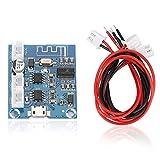 Oumij Módulo Amplificador Bluetooth Mini Placa 5W + 5W 4.2 Circuito Módulo Estéreo de Altavoz Digital