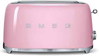 Smeg TSF02PKEU Grille-pain, 1500 W, Rose Bonbon