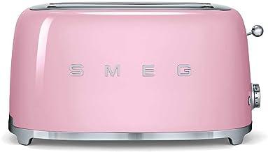 SMEG 4 Slices Stainless Steel Toaster - TSF02PKEU