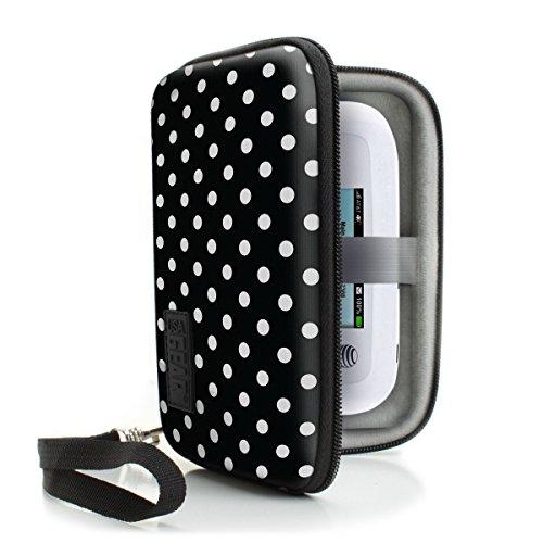 Accessory Power Grhs500100Pdew Usa Gear - Funda rígida para GPS de 5 Pulgadas y Hotspot WiFi portátil, Compatible con Tomtom Start 42 Europa, Garmin Nuvi 2567Lm, Camper y Muchos más.