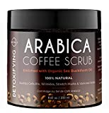 O Naturals Exfoliating Coffee Arabica Dead Sea Salt Body & Legs Scrub. Helps Treat Cellulite Acne Eczema Wrinkles Stretch Marks Varicose Veins & Poor Circulation. Coconut Oil Vitamin E Enriched 8.45Oz review