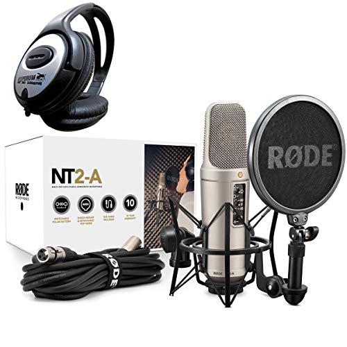 Rode NT2-A Set Mikrofon + keepdrum Kopfhörer