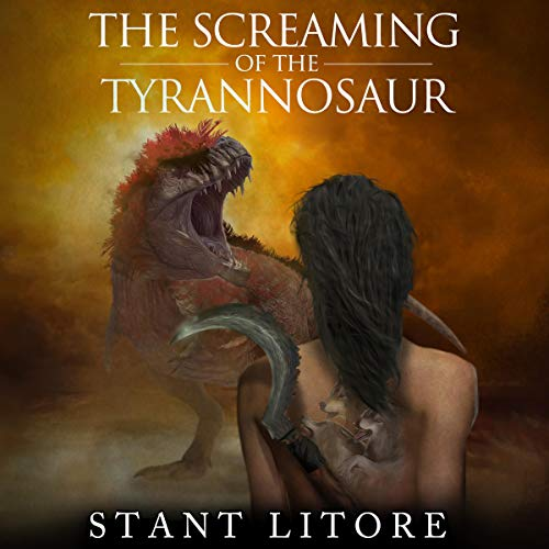 The Screaming of the Tyrannosaur  By  cover art