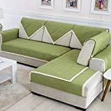 B/H Pet Dog <span class='highlight'>Sofa</span> Protectors,Four seasons linen linen towels, and durable <span class='highlight'>sofa</span> cushions-A_70×160cm,Soft Washable Corner Covers