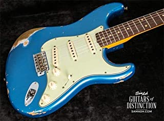 Fender Custom Shop 1959 Stratocaster Heavy Relic Electric Guitar Aged Lake Placid Blue (SN:CZ541011)
