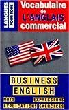 Vocabulaire de l'anglais commercial