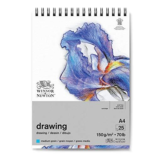 Winsor & Newton 6691006 - Papel de dibujo (DIN A4), color blanco