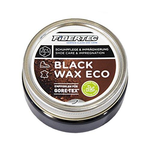 Fibertec Black Wax Eco 100ml, schwarz | Schuhwachs Schuhpflege Imprägnierung